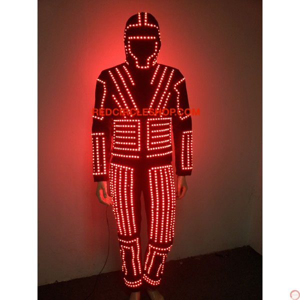 LED dancing costume (warrior of the light) - Photo 7
