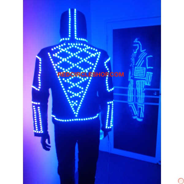 LED dancing costume (warrior of the light) - Photo 11
