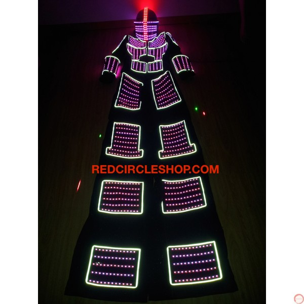 LED luminous stilting costume (contact for pricing) - Photo 10