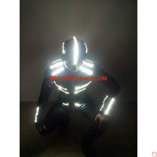 LED dancing costume (Night Shade) (contact for pricing) - Photo 6