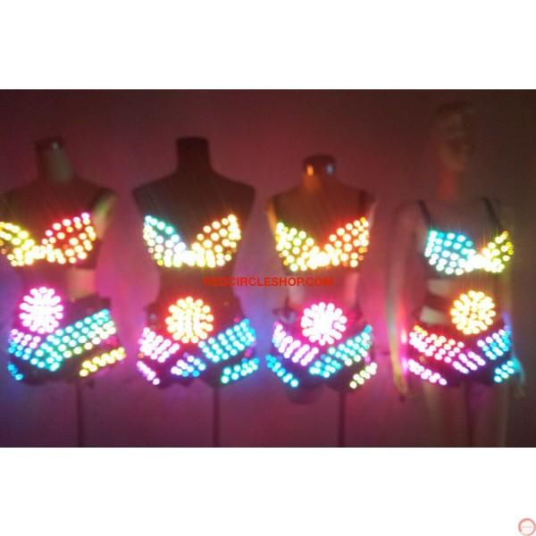 LED dancing costume (Bikini) - Photo 24