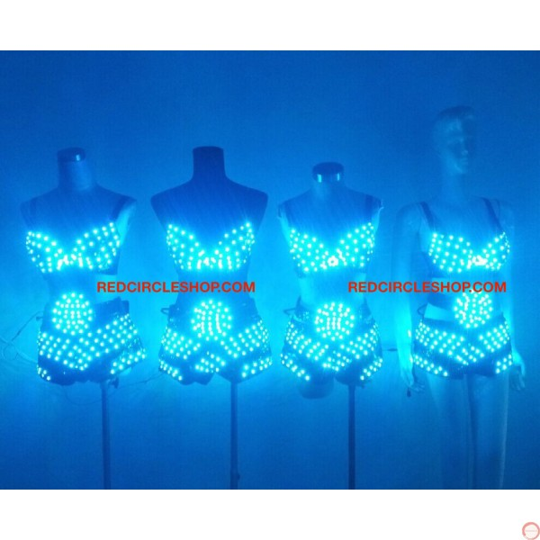 LED dancing costume (Bikini) - Photo 20