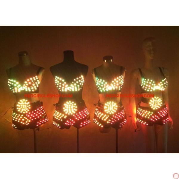 LED dancing costume (Bikini) - Photo 21