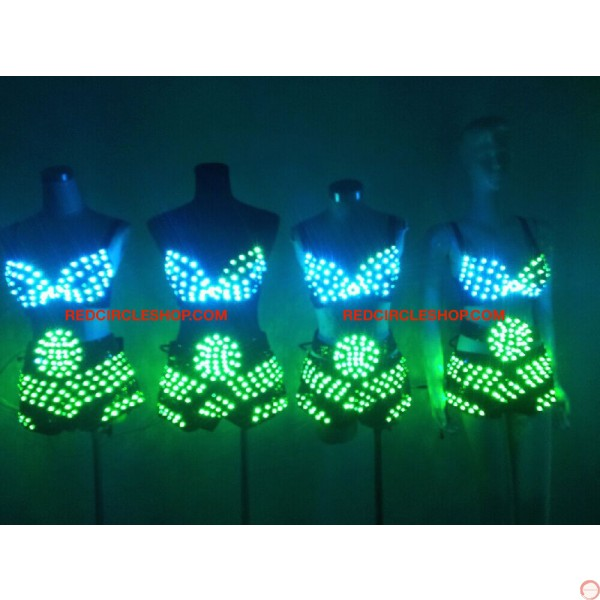 LED dancing costume (Bikini) - Photo 18
