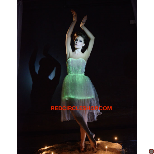 Luminous dress/ Optical fiber (contact for pricing) - Photo 7