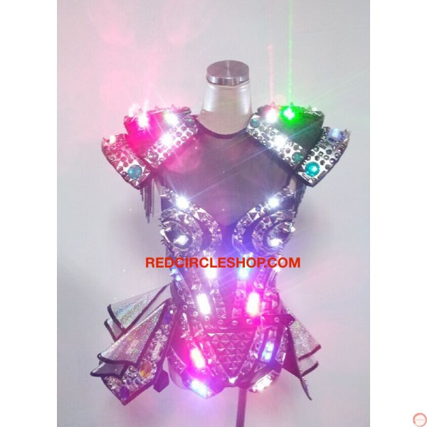 LED jewel laser dancing costume - Photo 6