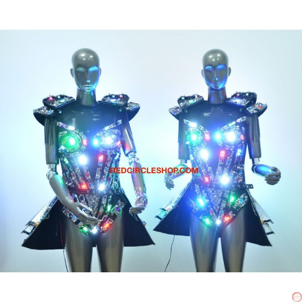 LED jewel laser dancing costume - Photo 10