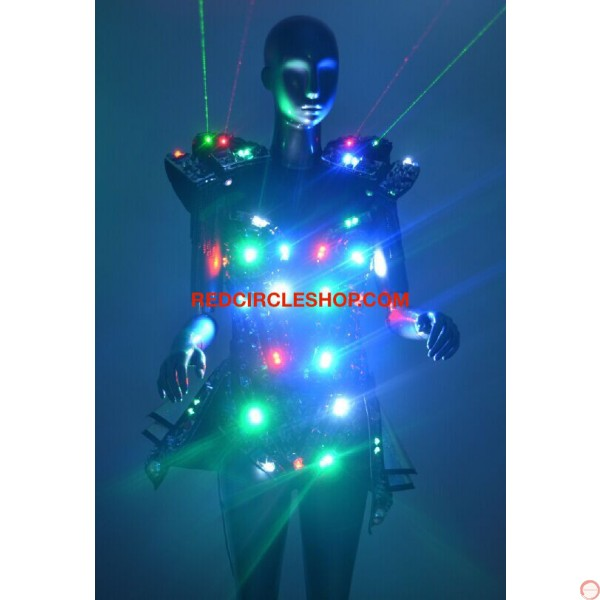 LED jewel laser dancing costume - Photo 9