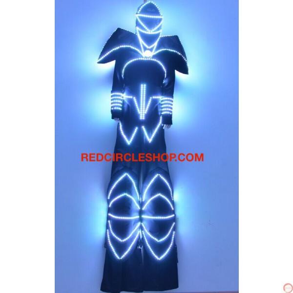 LED luminous stilting costume 2 - Photo 4