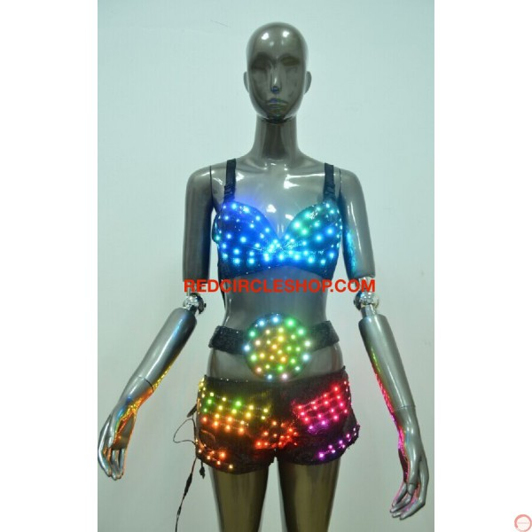 LED dancing costume (Bikini) - Photo 19