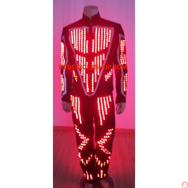 LED dancing costume (Robot 2) - Photo 5