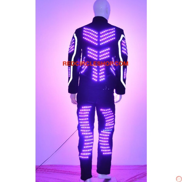 LED dancing costume (Robot 2) - Photo 6