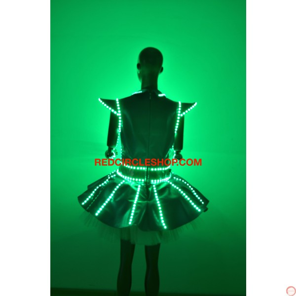 Luminous dress - Photo 9