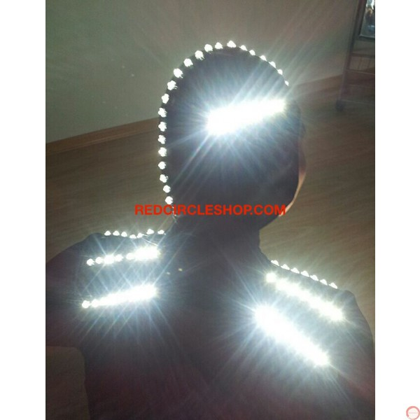 LED dancing costume (Night Shade) (contact for pricing) - Photo 7