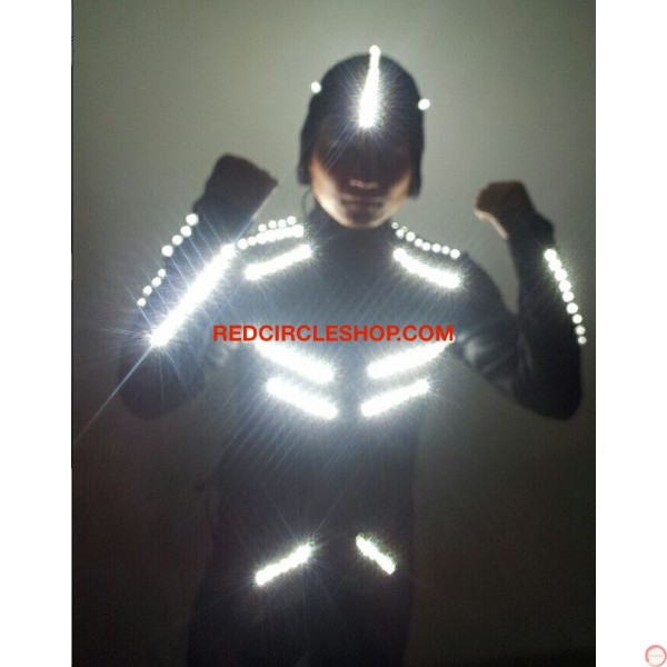 LED dancing costume (Night Shade) (contact for pricing) - Photo 9