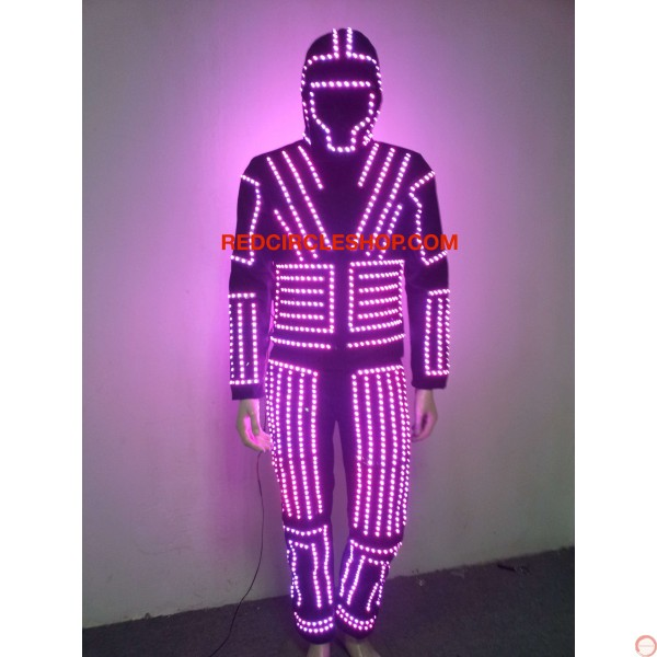 LED dancing costume (warrior of the light) - Photo 8