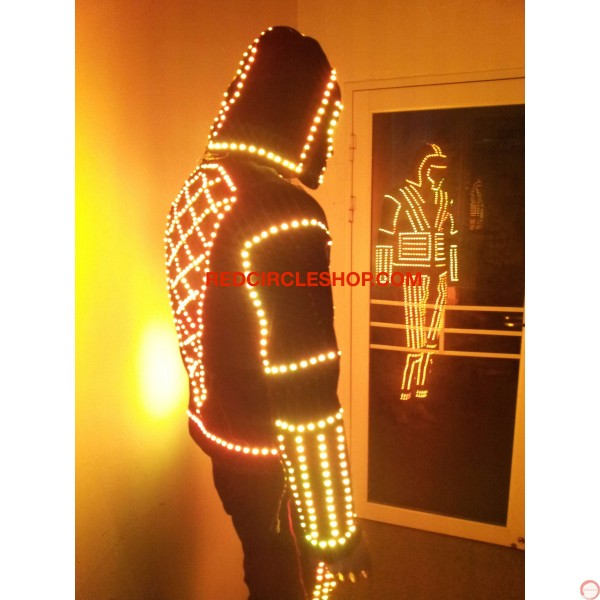 LED dancing costume (warrior of the light) - Photo 10
