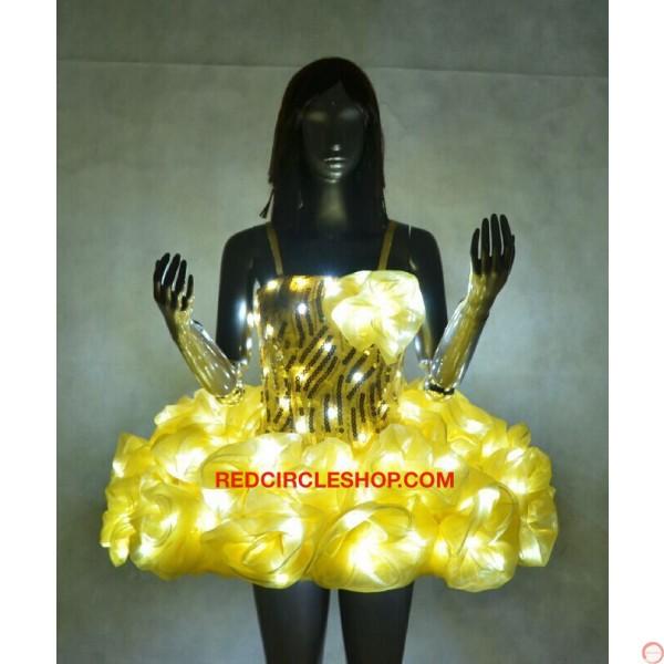 LED Dress Princess - Photo 5