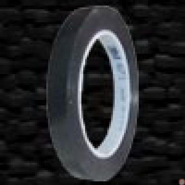 sold out  plastic tape black 12.7mm 32.9m roll - Photo 2