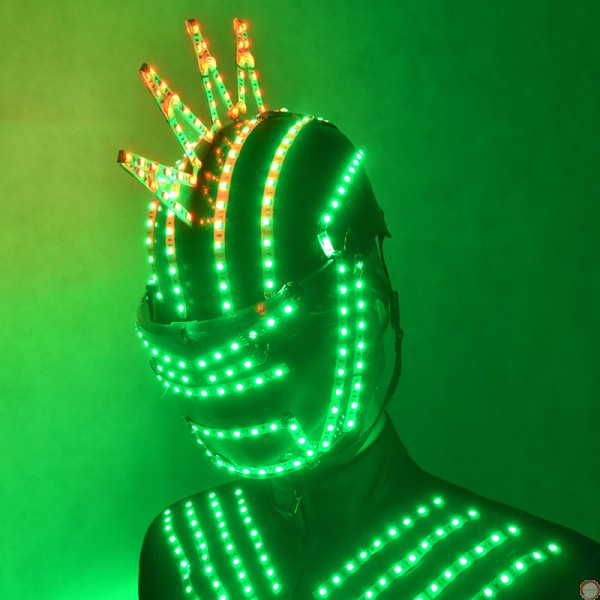 Luminous helmet - Photo 8