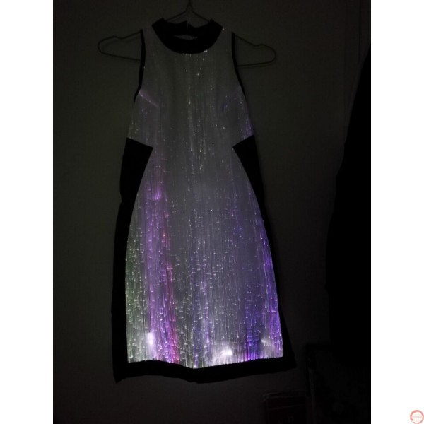 Luminous dress/ Optical fiber (contact for pricing) - Photo 21