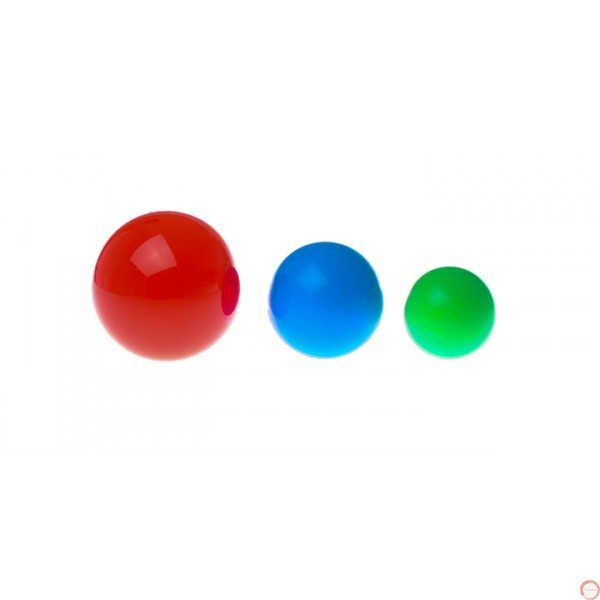 Color juggling balls Dekaboru. (Please contact for availability) - Photo 4