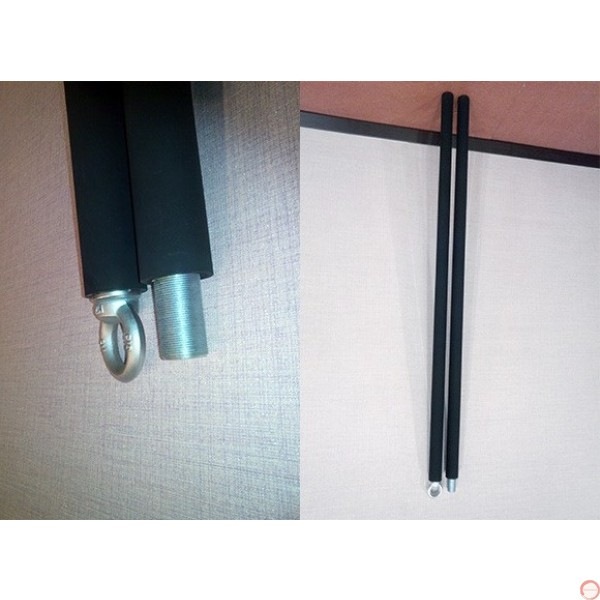 Aerial Pole, Chinese pole, Swinging Pole, demountable, 2 pieces. - Photo 20