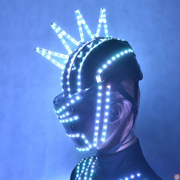 Luminous helmet - Photo 5