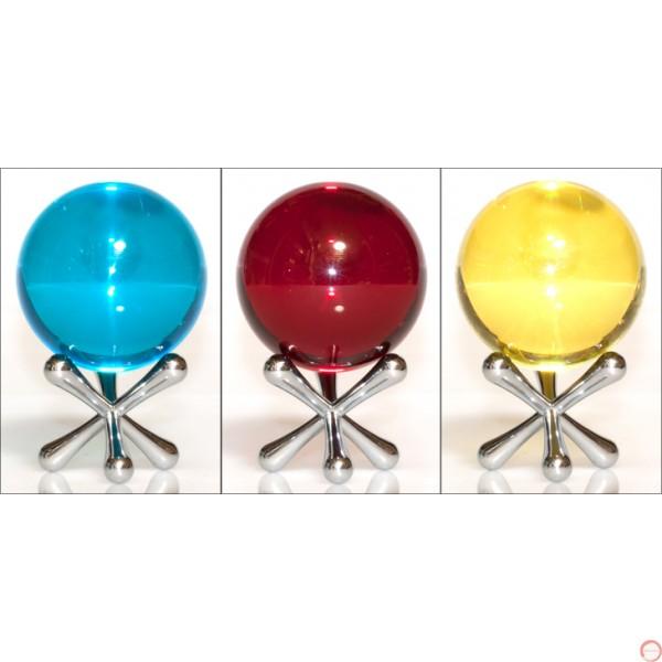 Crystal ball 70mm color - Photo 6