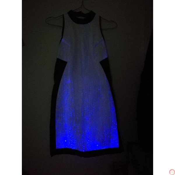 Luminous dress/ Optical fiber (contact for pricing) - Photo 16