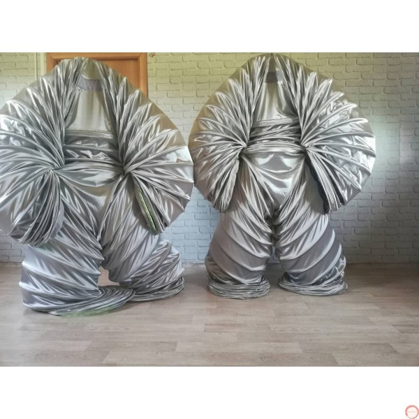 Slinky Costume SILVER Version (With free bag) - Photo 14