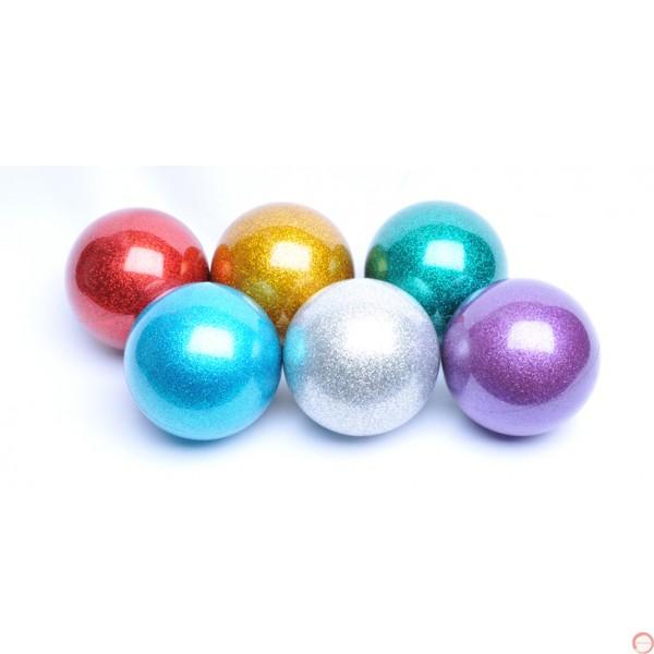 PVC Russian ball glitter color 72mm - Photo 2
