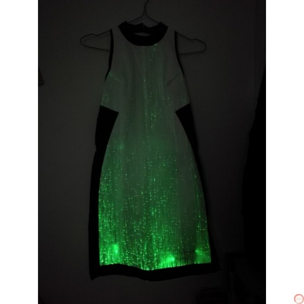 Luminous dress/ Optical fiber (contact for pricing) - Photo 12