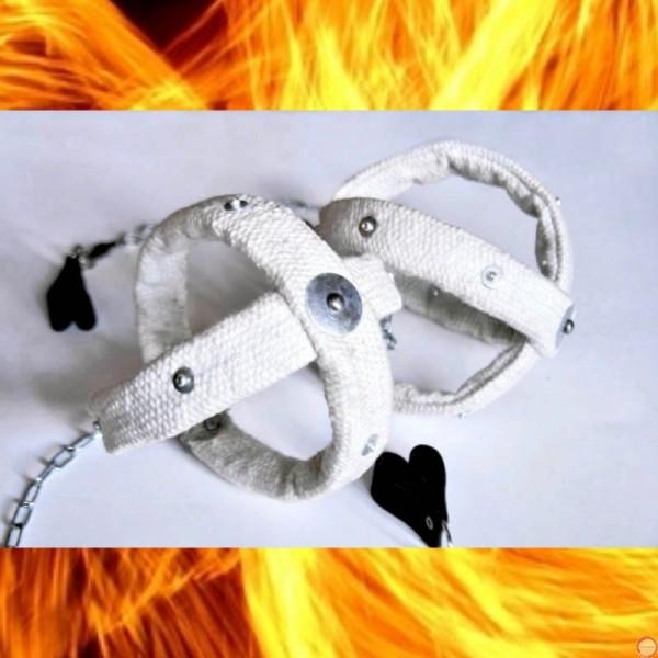 Fire Poi Comets (Ceramic cord) - Photo 6