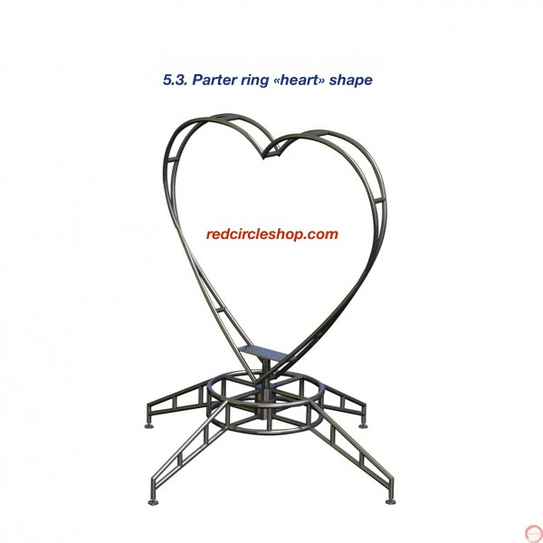Parter ring «heart» shape.  - Photo 2