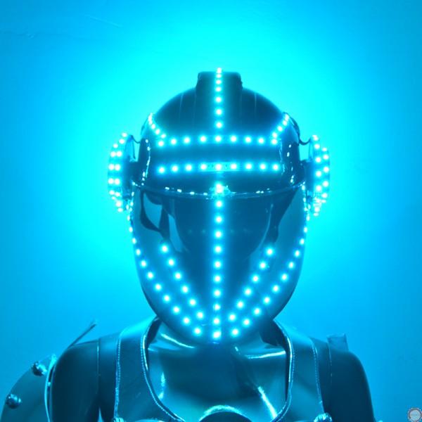 Luminous helmet (contact for pricing) - Photo 6
