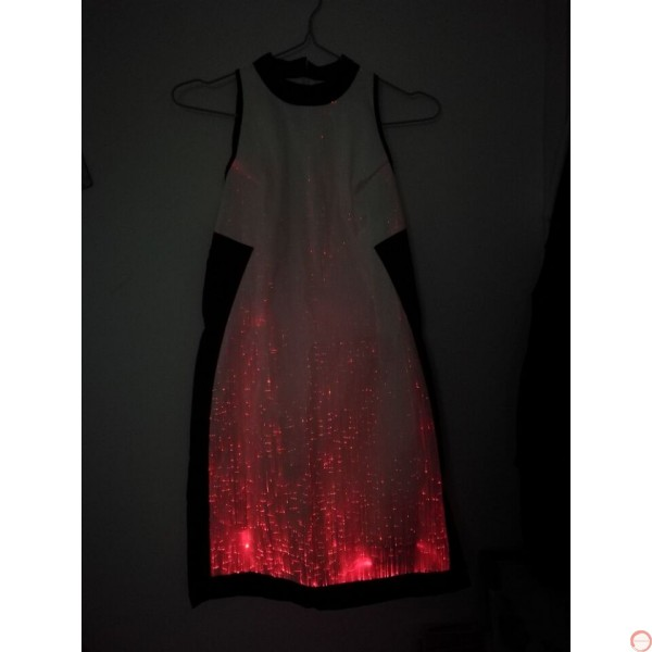 Luminous dress/ Optical fiber (contact for pricing) - Photo 15