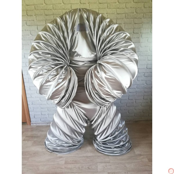 Slinky Costume SILVER Version (With free bag) - Photo 10
