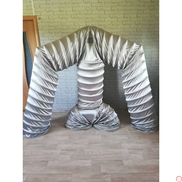 Slinky Costume SILVER Version (With free bag) - Photo 8