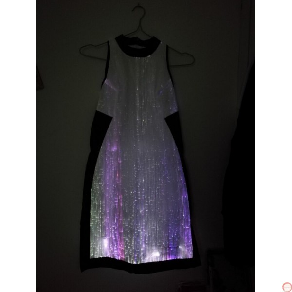 Luminous dress/ Optical fiber (contact for pricing) - Photo 20