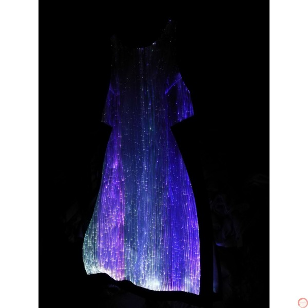 Luminous dress/ Optical fiber (contact for pricing) - Photo 22