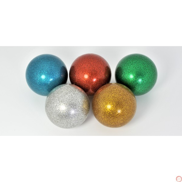 RF stage ball glitter color 100mm - Photo 3
