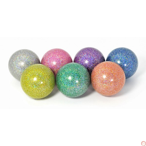 RF stage ball rainbow glitter color 72mm - Photo 2