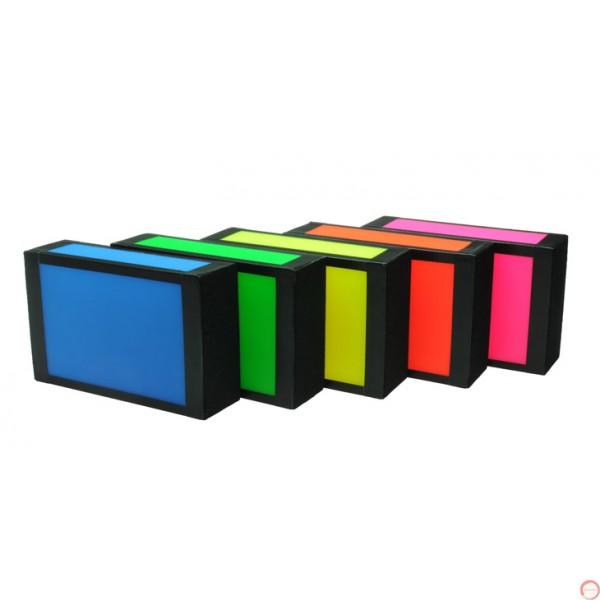 Beard cigar box neon color - Photo 2