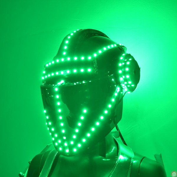 Luminous helmet (contact for pricing) - Photo 5
