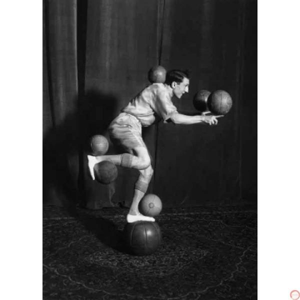 Enrico Rastelli Leather ball - Photo 3