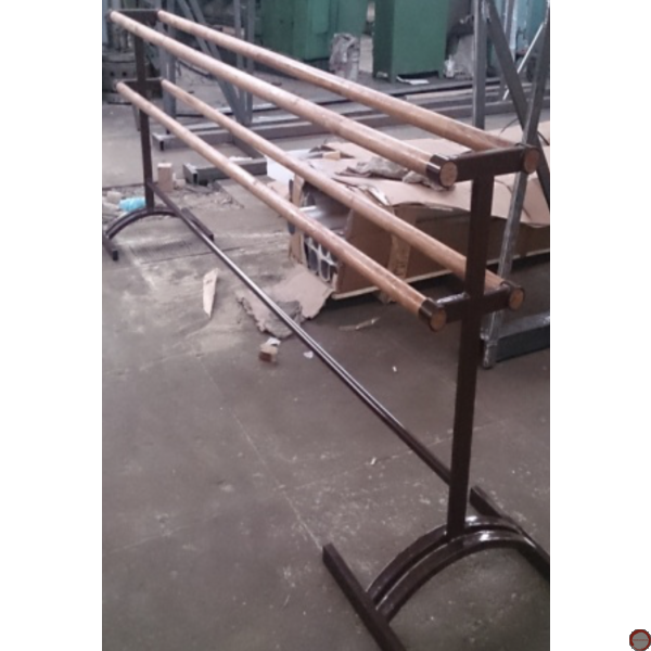 Portable  2 - Sided Ballet barres with 4 wood horisontal barres (Contact for Price and availability) - Photo 4