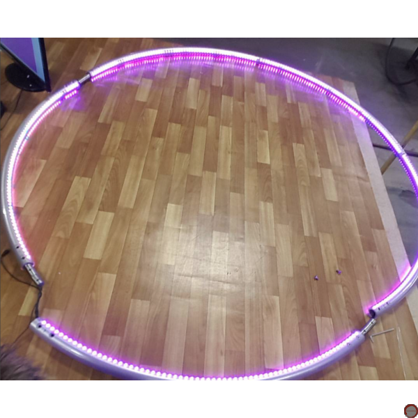 LED Cyr wheel 5 pieces with PVC covering - Photo 22