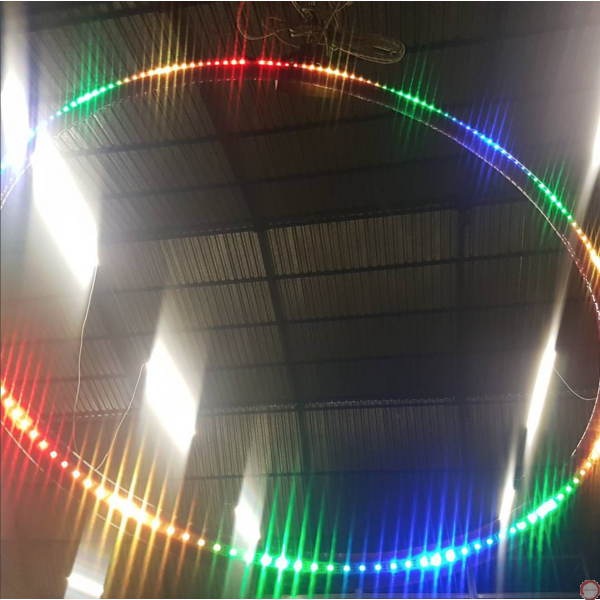 LED Aerial Lyra hoop  - Photo 22