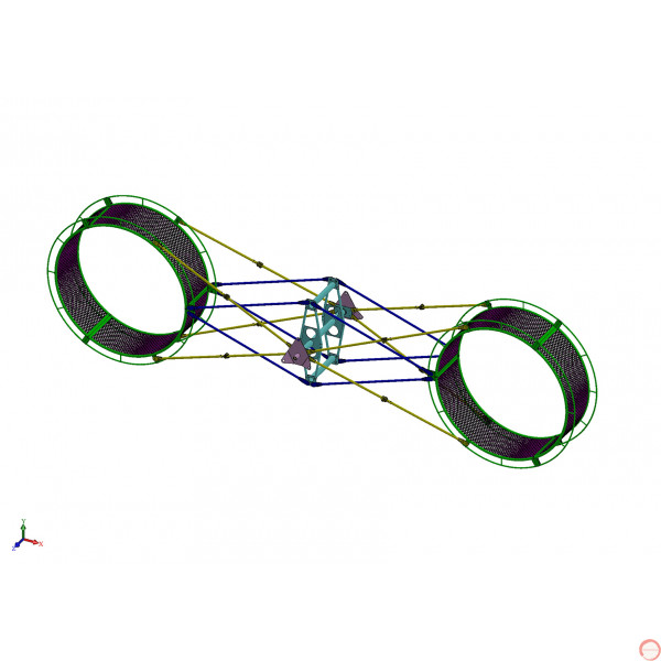 PRICE ON REQUEST. The American wheel of death (2 ор 3 arms swing) on the supports - Photo 26